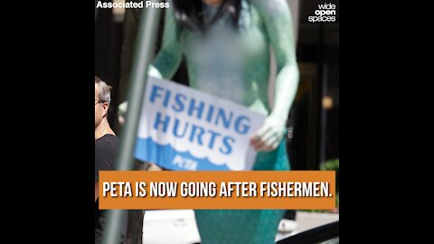 PETA is Now Going After Fishermen