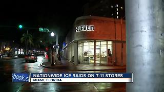 seven11 ICE raids across the U.S. - Video