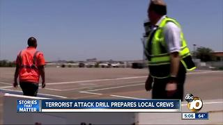 Terrorist attack drill prepares San Diego crews - Video