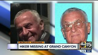 Crews searching for missing hiker at Grand Canyono - Video