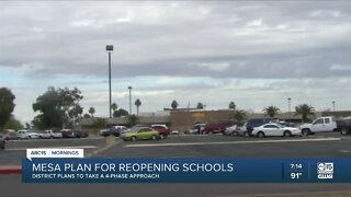 Mesa superintendent discusses reopening plans for schools