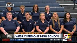 West Clermont High School a cappella group performs, plus a chat with Principal Randy Gebhardt - Video