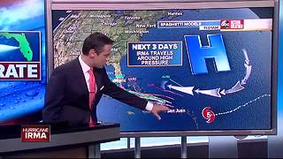 Hurricane Irma Update | Florida's Most Accurate Forecast with Greg Dee at 11:00 a.m. - Video