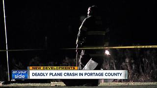 Plane crashes behind home in Portage County - Video
