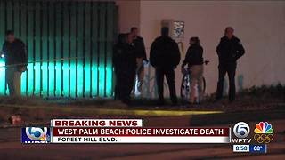 Woman's death investigated in West Palm Beach