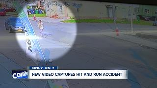 New video captures hit and run accident - Video