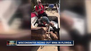 Milwaukee-area team headed to Florida to rescue animals after Hurricane Irma - Video