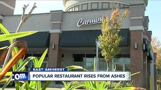 Popular restaurant rises from the ashes - Video