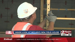 An inside look at McLain's new field house