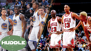 Are the 2017 Warriors BETTER Than the '96 Bulls? -The Huddle - Video