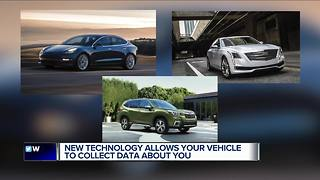 Your car knows more about you than you think - Video