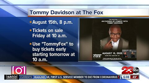 Tommy Davidson at The Fox