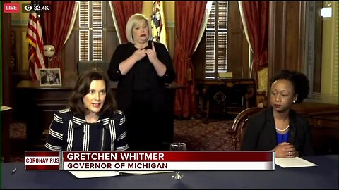 Gov. Whitmer shuts down Michigan schools for rest of academic year