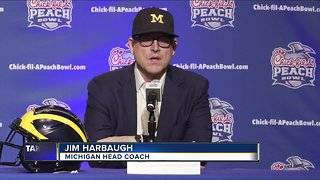 Jim Harbaugh shares state of Michigan football program after loss to Ohio State