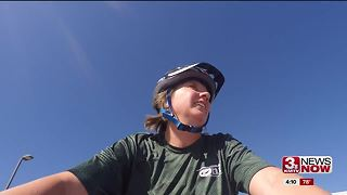 Omaha woman coordinates bike rides for visually impaired - Video