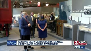 Second lady Visits Omaha