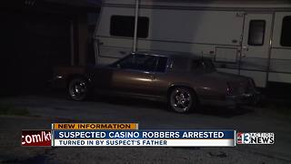 Father: Daughter used Cadillac to rob Las Vegas casino - Video