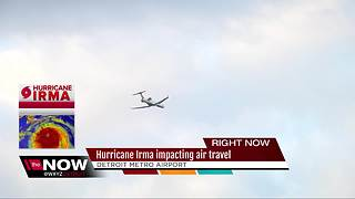 Hurricane Irma impacting air travel - Video