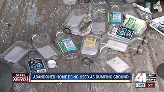 Northeast KC frequent site for illegal dumping - Video