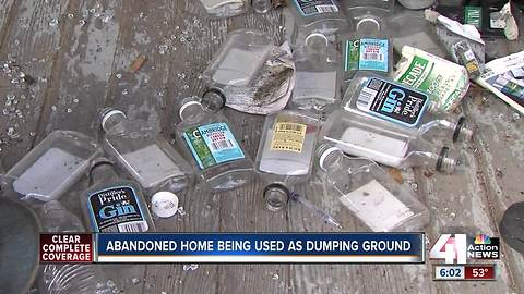 Northeast KC frequent site for illegal dumping