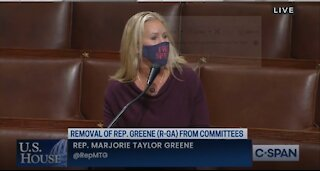 """EPIC: Marjorie Taylor Greene's """"Scorched Earth"""" Speech On House Floor"""