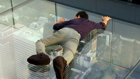 This Glass Walkway Isn't for the Feint of Heart