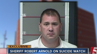 Sheriff Robert Arnold On Suicide Watch; May Consider Pleading Guilty