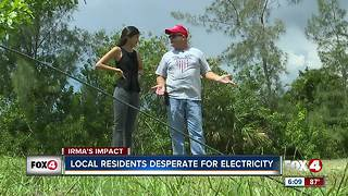 Day 4 without power in SWFL - Video