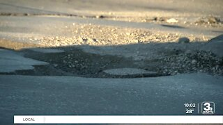 City of Omaha begins patching potholes as weather warms