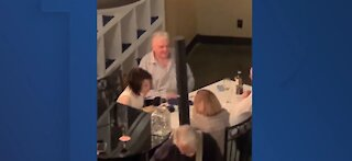 Nevada governor responds to viral video of him at dinner with live entertainment