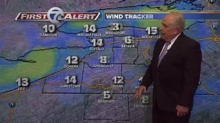 11pm 7 First Alert forecast - Video