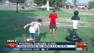 Lamont football coaches working to lessen dehydration - Video