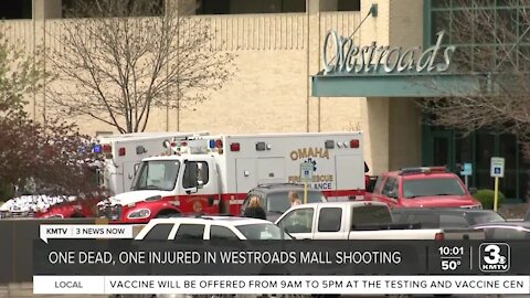 One dead following shooting at Westroads Mall