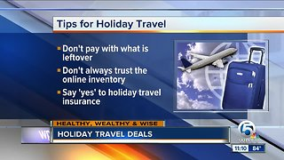 Holiday travels tips