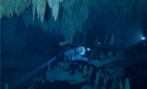 Researchers Discover Connection Between Underwater Cave Systems in Mexico - Video
