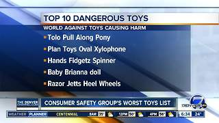 dangerous toy list - Video