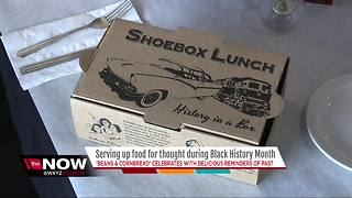 Beans & Cornbread offers lunch with a history lesson for Black History month - Video