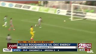 Tulsa Roughnecks defeat OKC Energy, 2-1 - Video