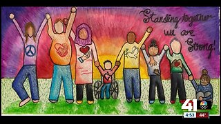 Kansas City-area students create murals for teen suicide prevention