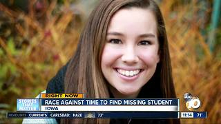 Race to find student who disappeared while jogging - Video