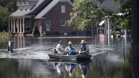 South Carolina County Braces For Severe Flooding From Florence