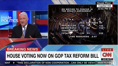 CNN's King: Working Families Will Get 'Damn Good Money' From Trump Tax Cuts