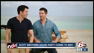Scott Brothers from 'Property Brothers' come to Indianapolis for book tour - Video