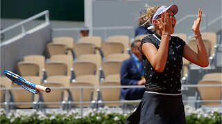 American teen stuns French open champion