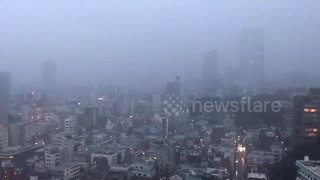 Tokyo authorities issue flood warning - Video