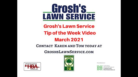 Lawn Mowing Service Hagerstown MD Video Landscaping Contractor GroshsLawnService.com
