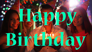 Happy Birthday Greeting Card 5 - Video