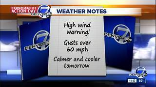 Tuesday forecast: First Alert Action Day - Video