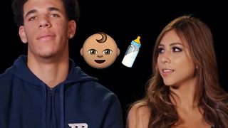 Lonzo Ball & Girlfriend Denise Garcia Are Having a Baby! - Video