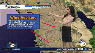 10News Pinpoint Weather for Sat. Jan. 13, 2018 - Video